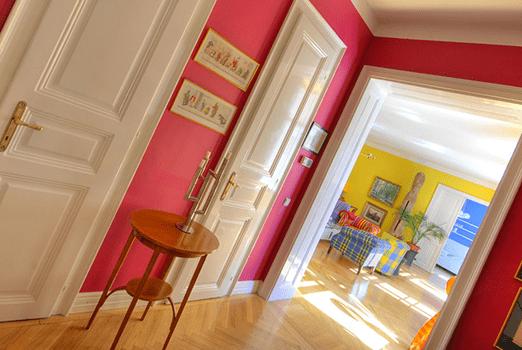 Durchgangszimmer Altbauwohnung