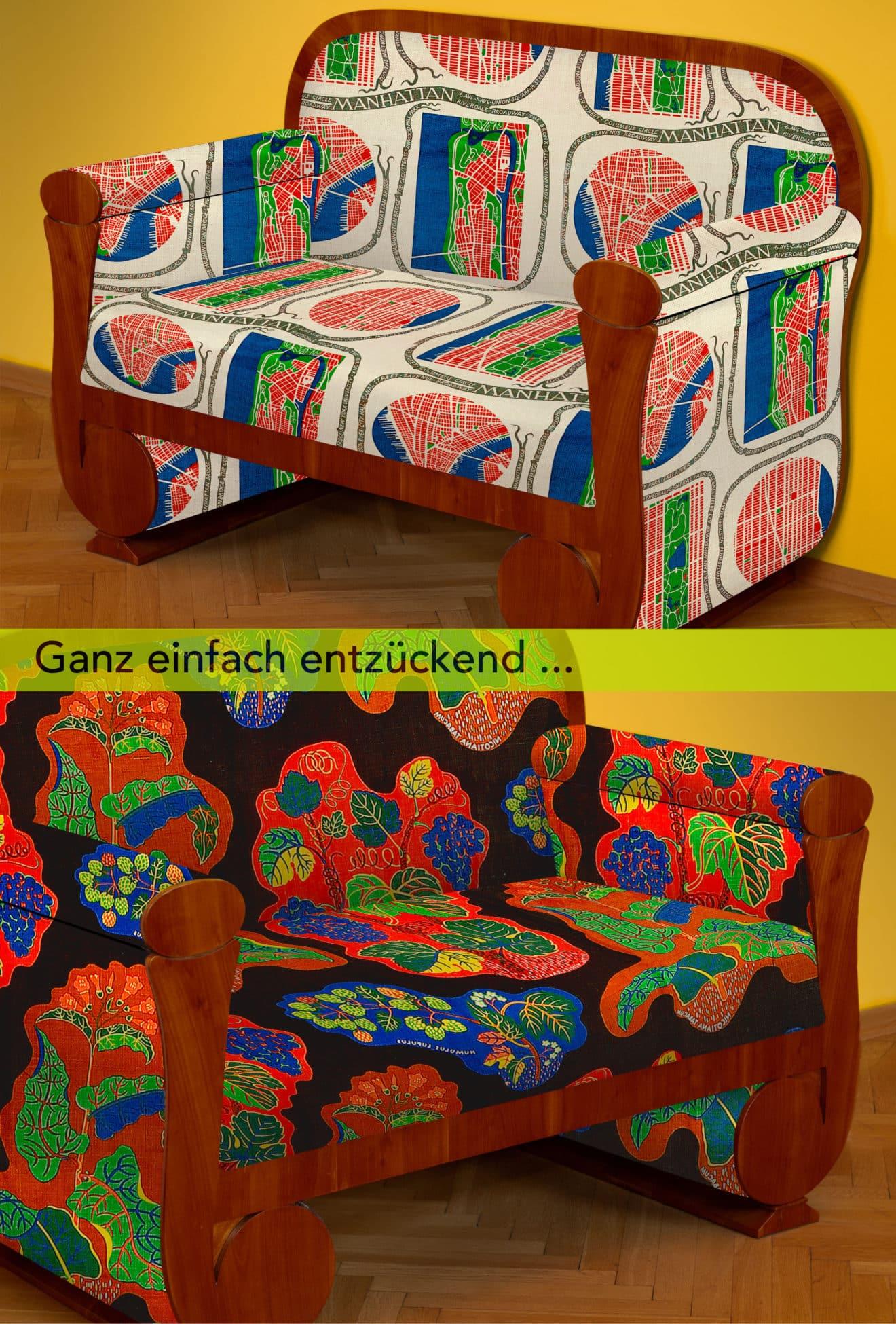 Kabinettstücke Newsletter Biedermeier Sofa mit Titel 2