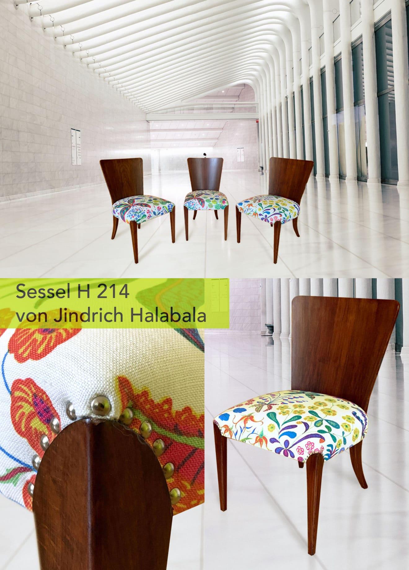 Kabinettstücke Newsletter Sessel H 216 mit Titel